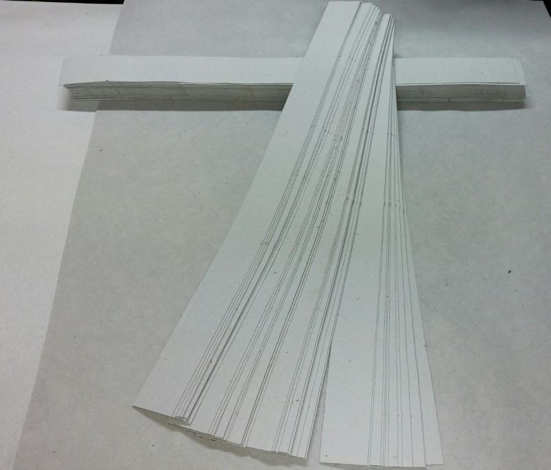Tiras de Cartón